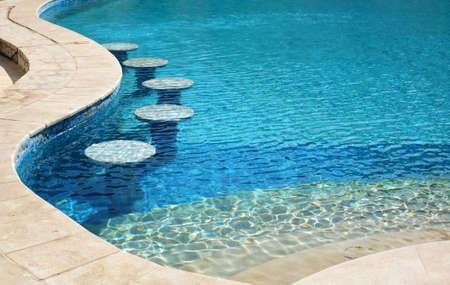 pool bars: Swimming Poolside Bar