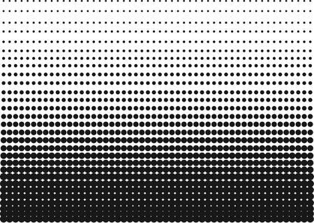Medios tonos gradiente hecho de puntos agudos para los fondos y otros usos en la publicidad o carteles. Foto de archivo - 53928575