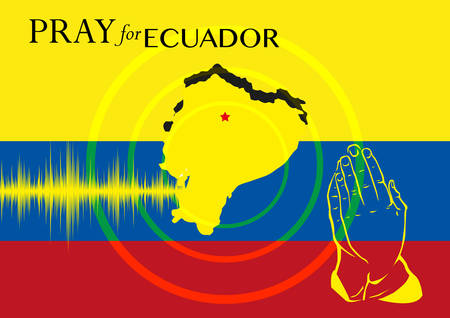 Pray for Ecuador. Earthquake Strikes.