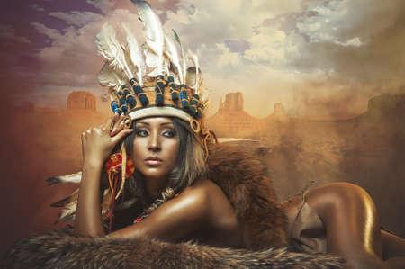 strip dance: indian