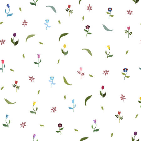simple girl: Seamless Floral Pattern. Seamless Floral Pattern. Contemporary Design