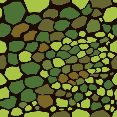Seamless Pattern. Green Color