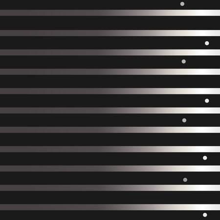 Silver Frame On Black. For Cards, postcards, backgrounds, etc. Winter Holiday, Christmas Themes. Vector Illustration. Stylized Silver Lines. Illusztráció