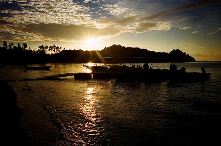 Sunrise at Redang Island