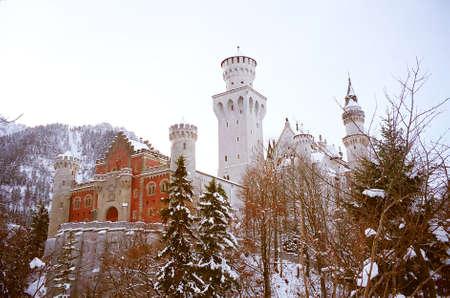 Neuschwanstein Castle at Bavaria, Germany, Europe