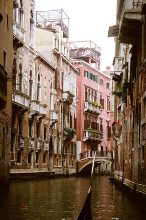 Detail building of Venice, Italy Stock Photo