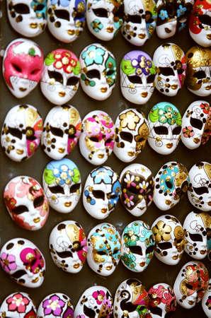 Venice masks, Italy photo