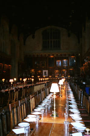 Dining Hall in Oxford, England
