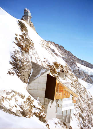 The Sphinx on the Jungfraujoch-Top of Europe