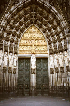 The south portal of Cologne Cathedral (Kölner Dom), Germany