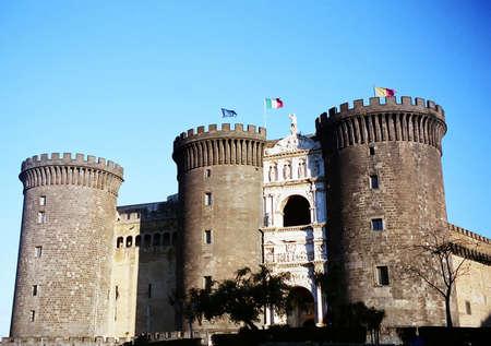 Castel Nuovo (Maschio Angioino) in Naples, Italy