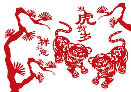 Tiger, chinese zodiac animal