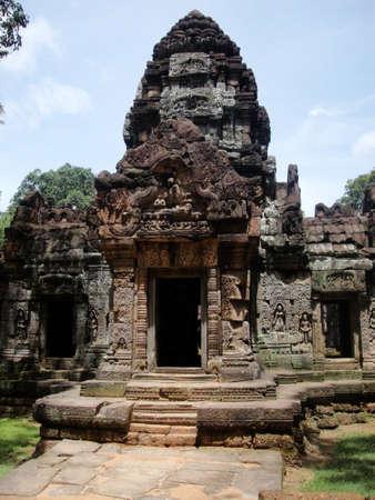 strangler: Ta Som at Angkor, Cambodia  Stock Photo