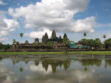Angkor Wat at Angkor, Cambodia Stock Photo - 7855021