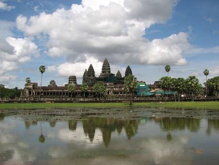 Angkor Wat at Angkor, Cambodia photo