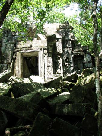 Beng Mealea at Angkor, Cambodia  Stock Photo