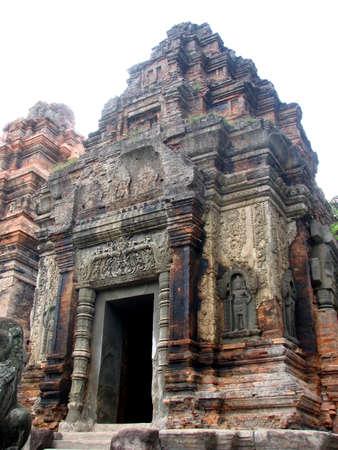 Preah Ko of Roluos Group at Angkor, Cambodia photo