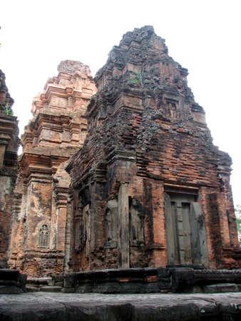 Preah Ko of Roluos Group, Angkor, Cambodia photo