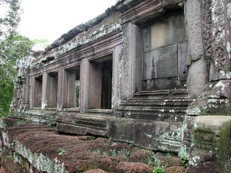 Phimeanakas at Angkor, Cambodia photo