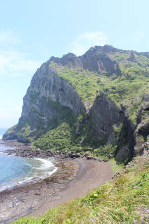 Seongsan Ilchulbong, Jeju Island, South Korea photo
