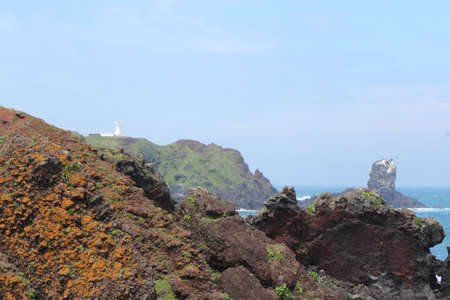Seopjikoji  in Jeju Island, South Korea photo
