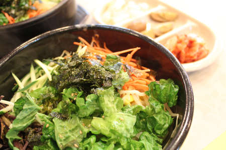 Bibimbap is a signature Korean dish
