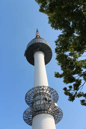 N Seoul Tower in Seoul, South Korea Stock Photo - 15486036