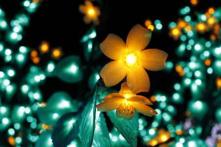 LED lights   写真素材