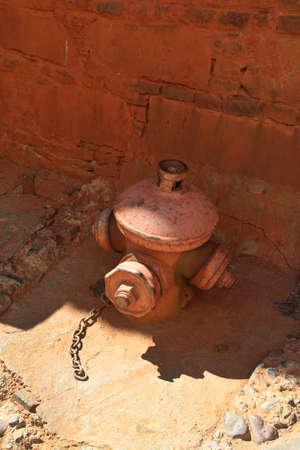 man made object: Fire hydrant in the Tashilhunpo monastery, Shigatse, Tibet