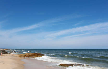 ne: Beach at Mui Ne in a sunny day, Vietnam Stock Photo