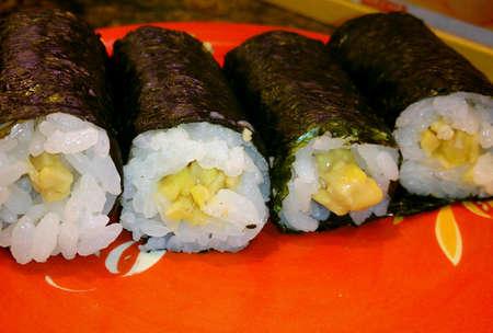 fermented: Fermented bean sushi