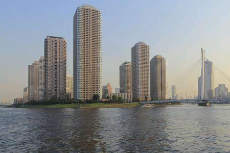 sumida: Sumida river tokyo japan Stock Photo