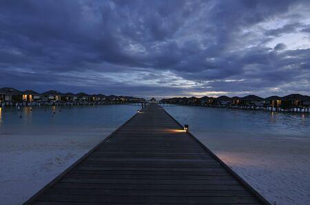 Resort in the Maldives
