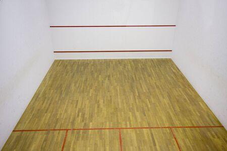 International squash court photo