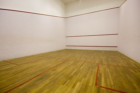 International squash court Stock Photo - 4867728