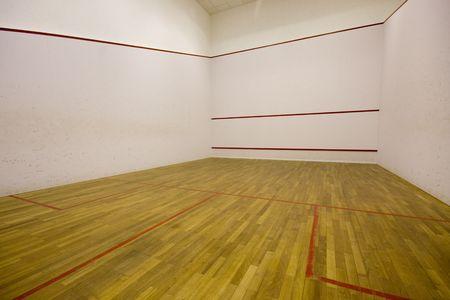 International squash court Stock Photo - 4867728