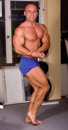 Bodybuilder posing Stock Photo - 5141858