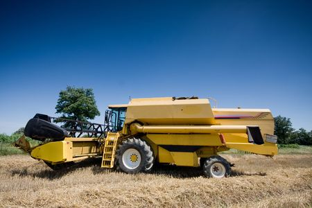 Agriculture - Combine photo