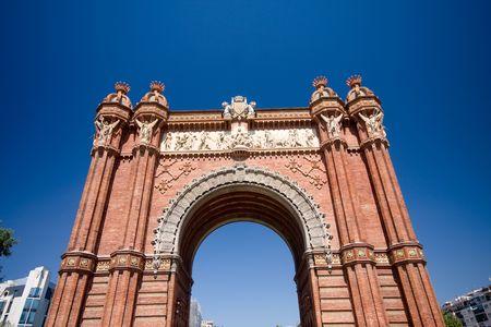 Arc de Triomf, Barcelona, Spain photo