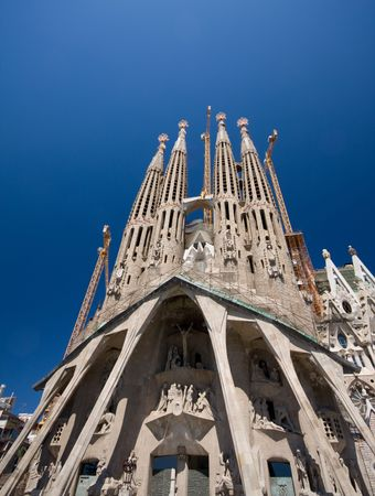 catalunia: Sagrada Familia in Barcelona, Spain. (A. Gaudy)