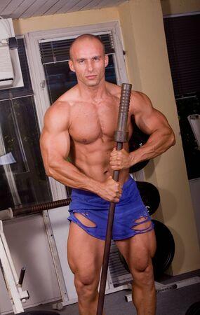 Bodybuilder posing Stock Photo - 6284410