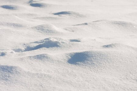 Detail of snow on the ground Stock Photo - 6284411