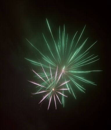 panoply: beautiful colorful firework