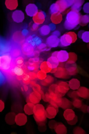 colorful fiber optic abstract background Stock Photo - 7085753