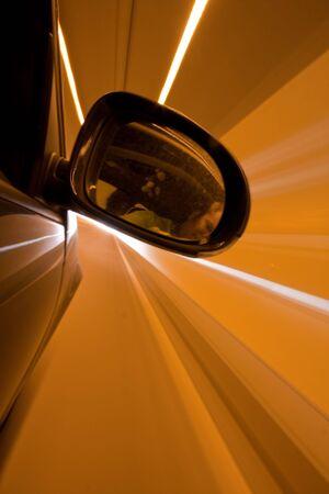 night drive on car Stock Photo - 7279247