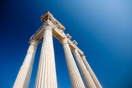 Apollo temple ruins in Side -Turkey  Stock Photo - 7703200
