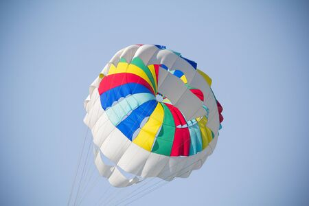 details of a colorful parachute Stock Photo - 10448353