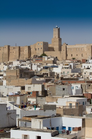 detail of Medina in Sousse, Tunesia photo