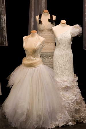 Weddings dress on a mannequin photo