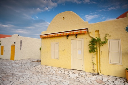 colorful house in Balatonfured